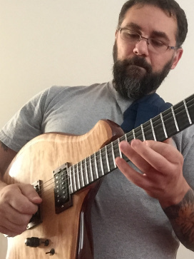 Dan Arcamone playing his Canton Custom Instrument
