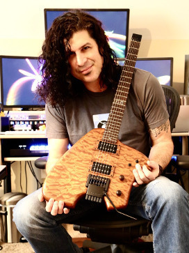 Doug Bossi and his Canton Custom Instrument