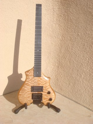 The Allan Holdsworth model. A one of a kind Canton Custom Design.